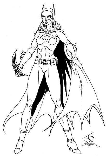 illmosis art  batgirl