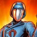 Cobra Commander (helmet) full figure artwork