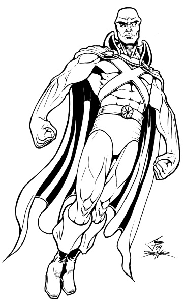 Martian Manhunter Coloring Pages #4