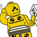 Lego Crash Test minifigure