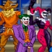 Pixel art group shot of some infamous Gotham City villains